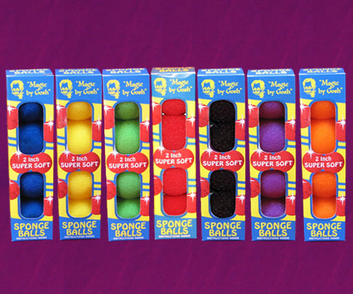 2'' Super Soft Sponge Balls (4 pc pack) - Goshman
