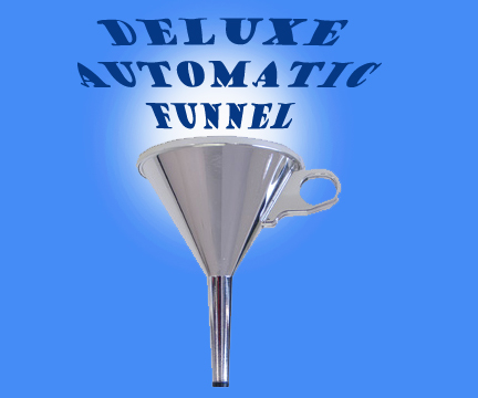 Automatic Funnel - Deluxe Chrome Plated - Bazar De Magia