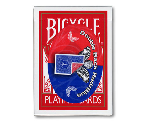 Cards - Double Back 809 Mandolin Back (Blue/Red) - USPCC
