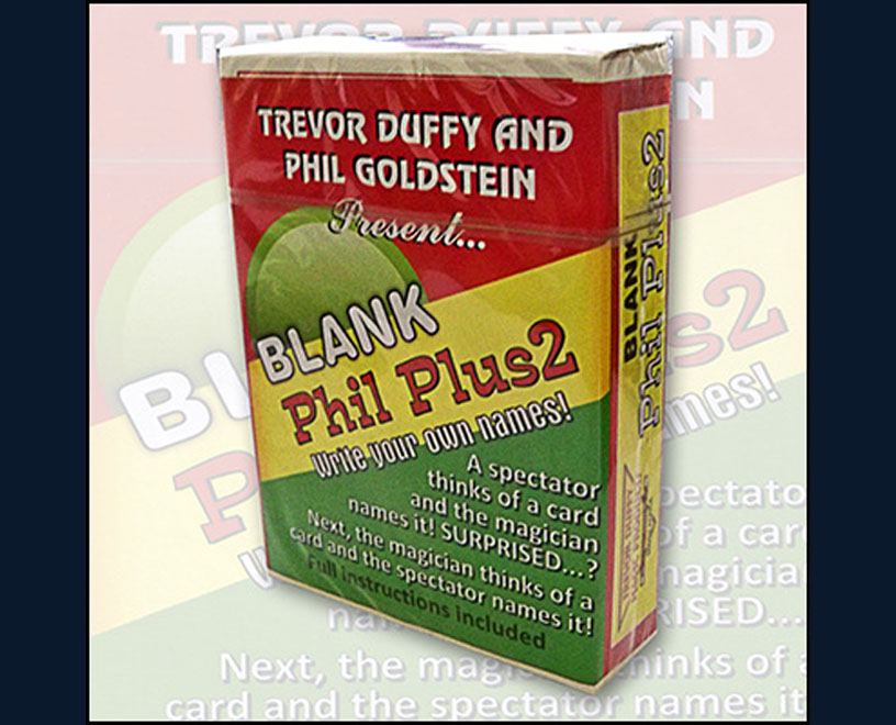 Blank Phil Plus 2 -Trevor Duffy