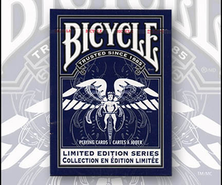 Cards - Bicycle Limited Edition Series #2 (Blue) - USPCC