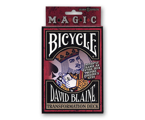 Bicycle David Blaine Transformation (Svengali) Deck - USPCC