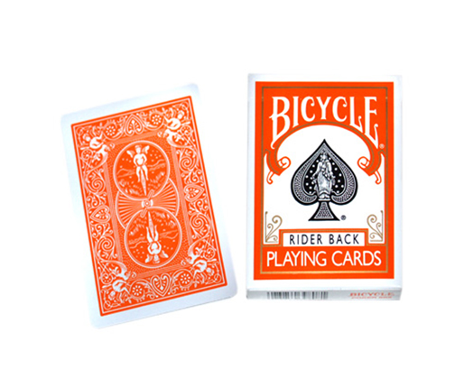 Cards - Bicycle Orange Back - USPCC