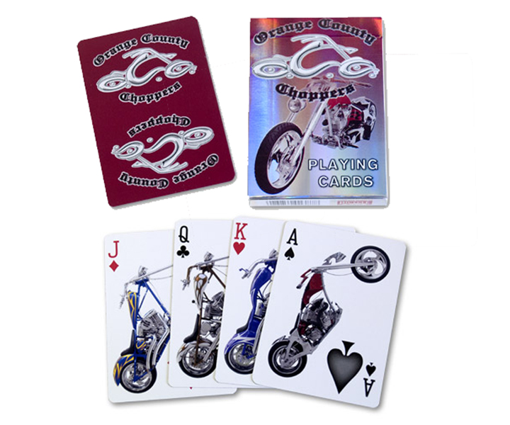 Cards - Orange County Choppers (Red) - USPCC