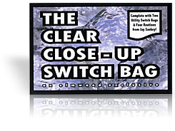 Clear Close-up Switch Bag - Jay Sankey