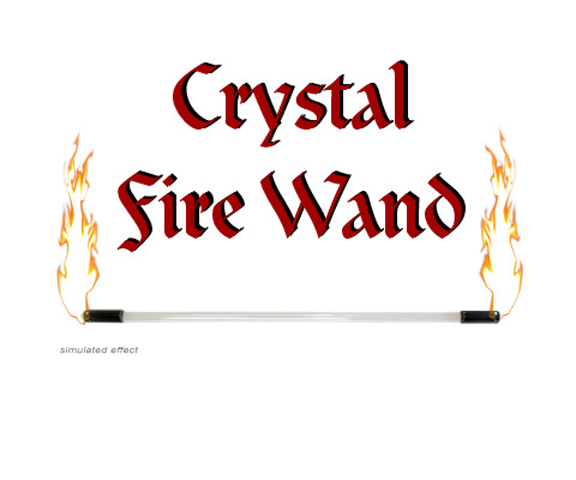 Crystal Fire Wand