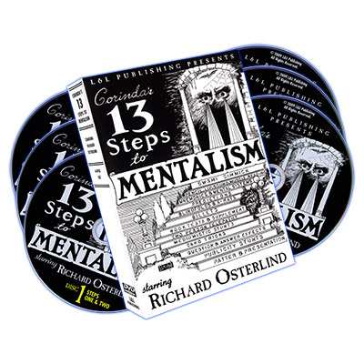 13 Steps To Mentalism (6 DVD set) - Richard Osterlind