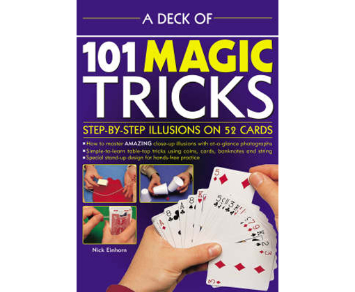 Deck of 101 Magic Tricks - Nicholas Einhorn