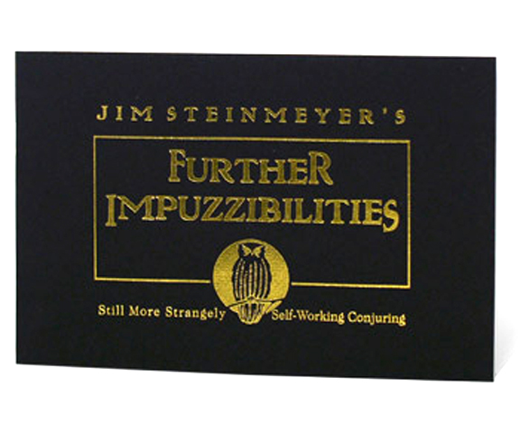 Further Impuzzibilities - Jim Steinmeyer