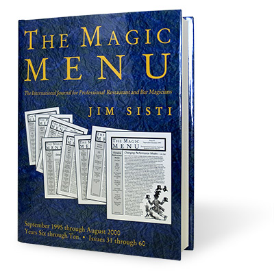 Magic Menu book (Years 6-10) - Jim Sisti