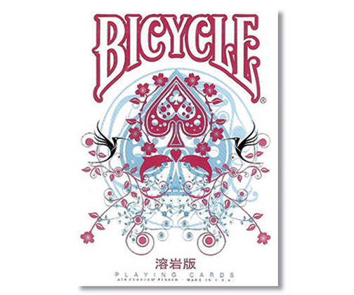 Cards - Bicycle Transducer Deck (LAVA Edition) - USPCC