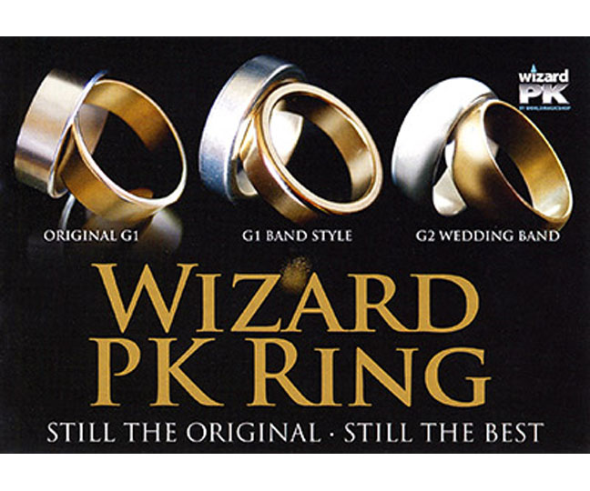 Wizard PK Ring (Flat Band)