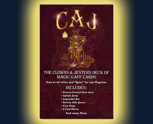 Cards - CAJ Gaffed Cards Deck - CAJ