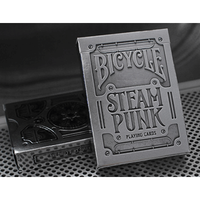 Cards - Bicycle Steampunk SILVER - USPCC