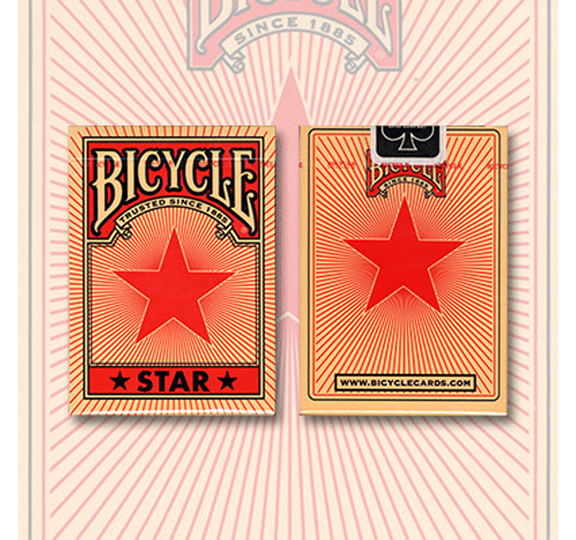 Cards - Bicycle Red Star - USPCC