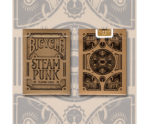 Cards - Bicycle Steampunk GOLD - USPCC