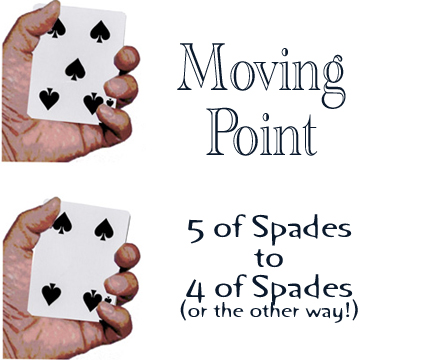 Moving Point (4/5 of Spades) - Seo Magic